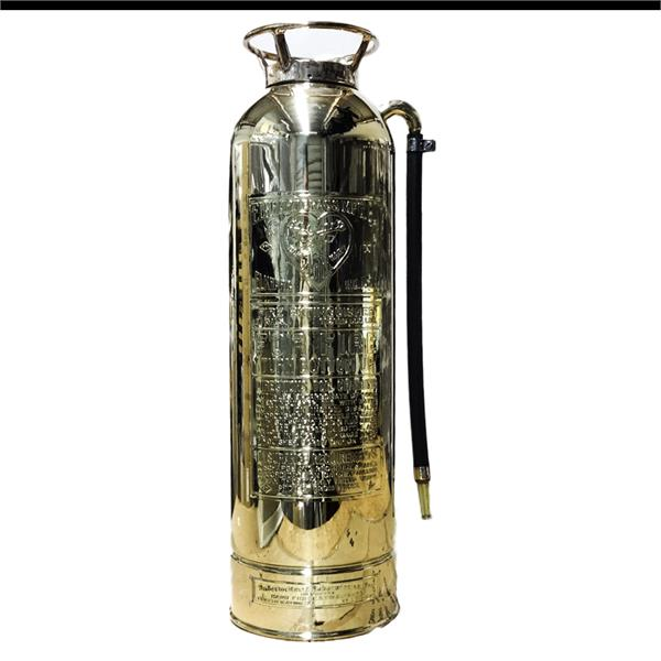 Elkheart Antique Brass Extinguisher